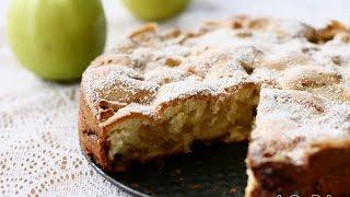 Шарлотка из яблок. Вкусный пирог!