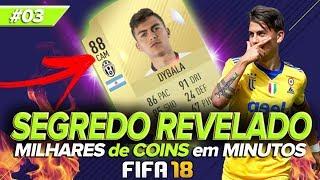 FIFA 18 UT - SUPER AULA DE TRADE PARTE 14 SÉRIE SEGREDO REVELADO #03 [FTRADE YOUTUBER]