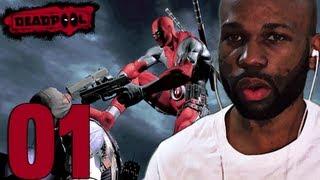 Deadpool Game Walkthrough PART 1 (Deadpool Gameplay) (Lets Play/Playthrough)