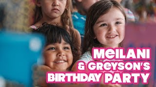 JWOWW Throws Meilani & Greyson a Birthday Party!