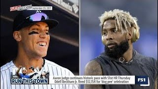 Who Is The Face Of New York Sports: Aaron Judge Or Odell Beckham Jr. ?
