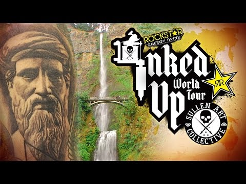 TATTOO CONVENTION COVERAGE - Rockstar Inked Up Tour Portland 2 of 2