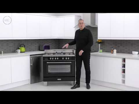 DeLonghi DVRS906DFBL 90cm Dual Fuel Range Cooker Review