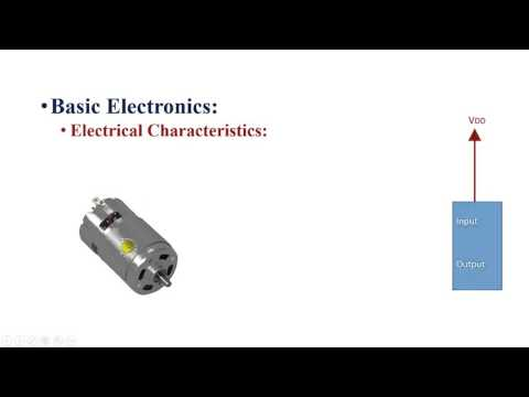 Embedded System Video 10 -  Basic Electronics Part 1