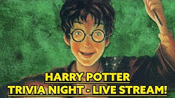 Harry Potter Trivia Night LIVE STREAM!