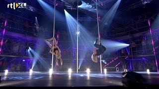 'De battle: Wie gaat er door?' - CELEBRITY POLE DANCING