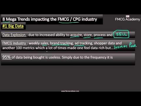 8 Mega FMCG / CPG Trends #1:  Big Data