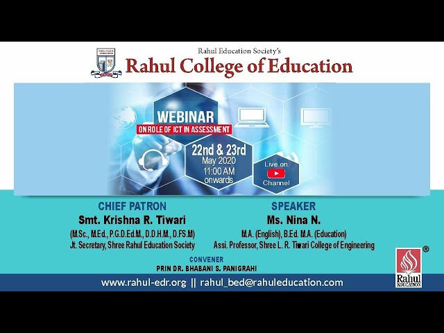 Webinar on Education and Assesment - Day 2