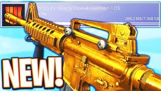 Video *FIRST* DLC WEAPON IN BLACK OPS 4! - NEW UPDATE BLACK OPS 4 DLC WEAPONS + BLACKJACKS SHOP! (BO4 New) download MP3, 3GP, MP4, WEBM, AVI, FLV November 2018