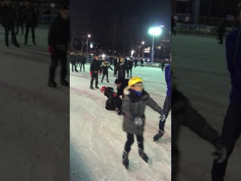 Awful skating accident in Seoul Korea