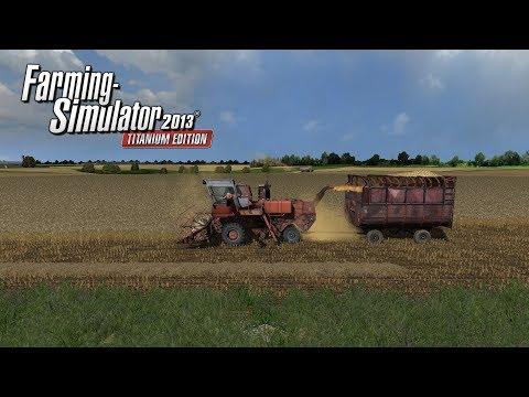Назад в прошлое... |Farming Simulator 2013| Стрим #01