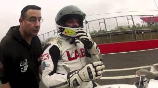 Moto3 bike at Brands Hatch