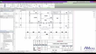 Вставка подложки DWG в проект Autodesk Revit