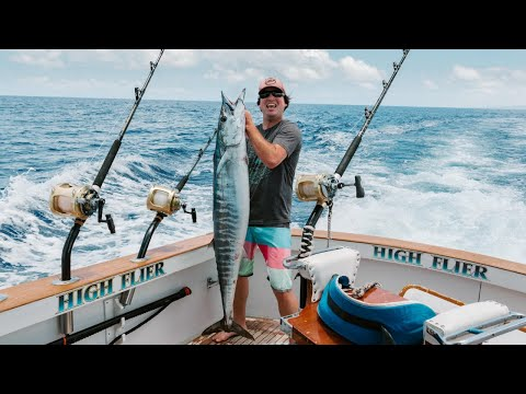 Three Days FISHING Offshore KONA Hawaii For GIANTS
