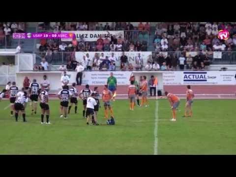 RUGBY Championnat Fédérale 1 USRP vs ASRC