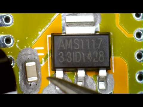 Microscope SMD Soldering - SYSMATT's first microscope video