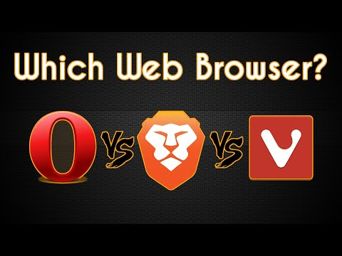 Opera Vs Vivaldi Vs Brave   The Web Browser Comparison