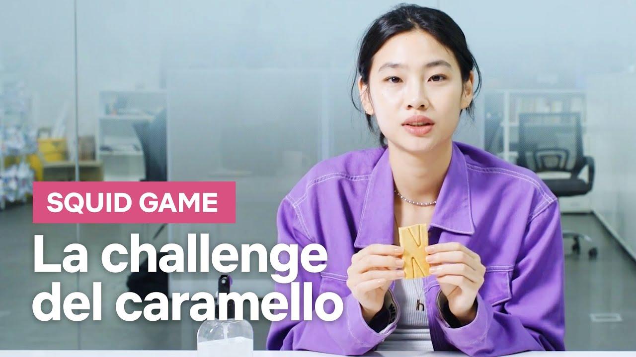Download Il cast di SQUID GAME affronta la Dalgona Challenge   Netflix Italia
