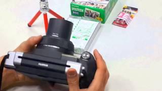 [렌씽♡]큰필름 삼각대카메라 (300)사용방법