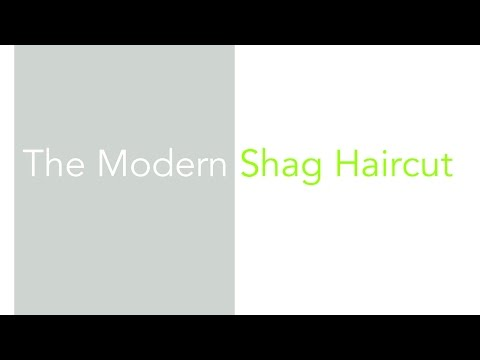 The Modern Curly Shag Haircut