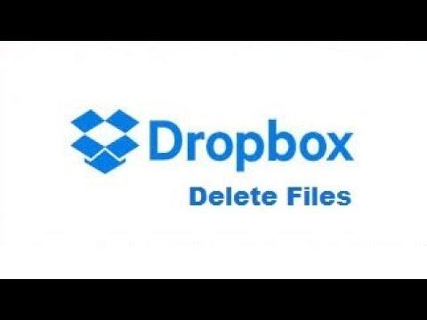 how to purge dropbox delete