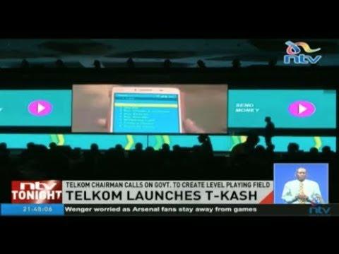 Telkom launches mobile money platform T-Kash