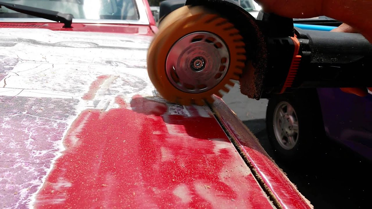 Removing an auto wrap with MBX Eraser wheel - YouTube