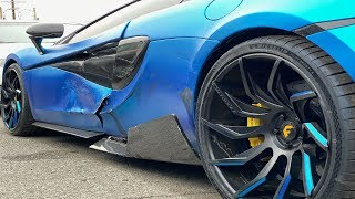 CAR INSURANCE REFUSES TO FIX MY MCLAREN! *SHOCKING NEWS*