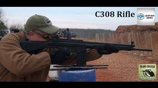 C308 308 Rifle Range Report    CAI HK91 Clone