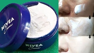 How To Use Nivea Cream For Instant Fairness | Skin Whitening Tips | Dark Spots Removal With Nivea