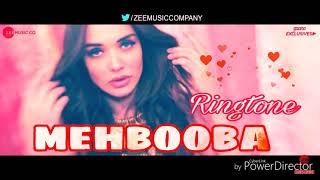 Mehbooba - New Bollywood song music ringtone - singer - ( Ankit tiwary )