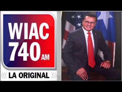 wiac 740 am radio san juan   entrevista alcalde de lajas miercoles 22 julio 2015