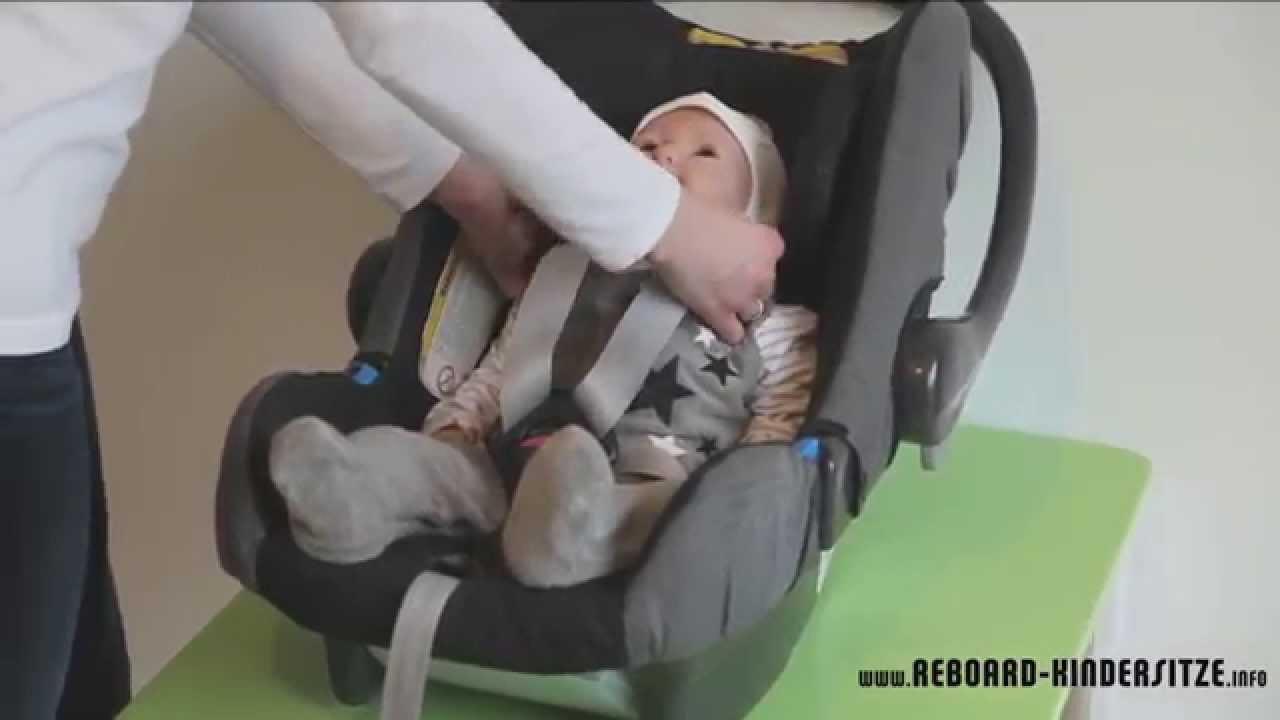babyschale anschnallen