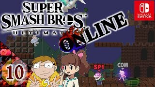 Super Smash Bros Ultimate Online Together Let's Play ★ 10 ★ Freie Auswahl ★ Deutsch