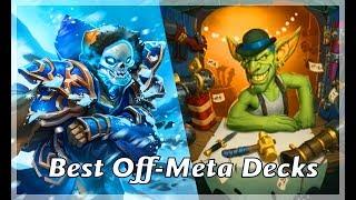 Hearthstone: Best Off-Meta Decks in Knights of the Frozen Throne