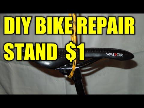 DIY Bike Repair Stand for $1