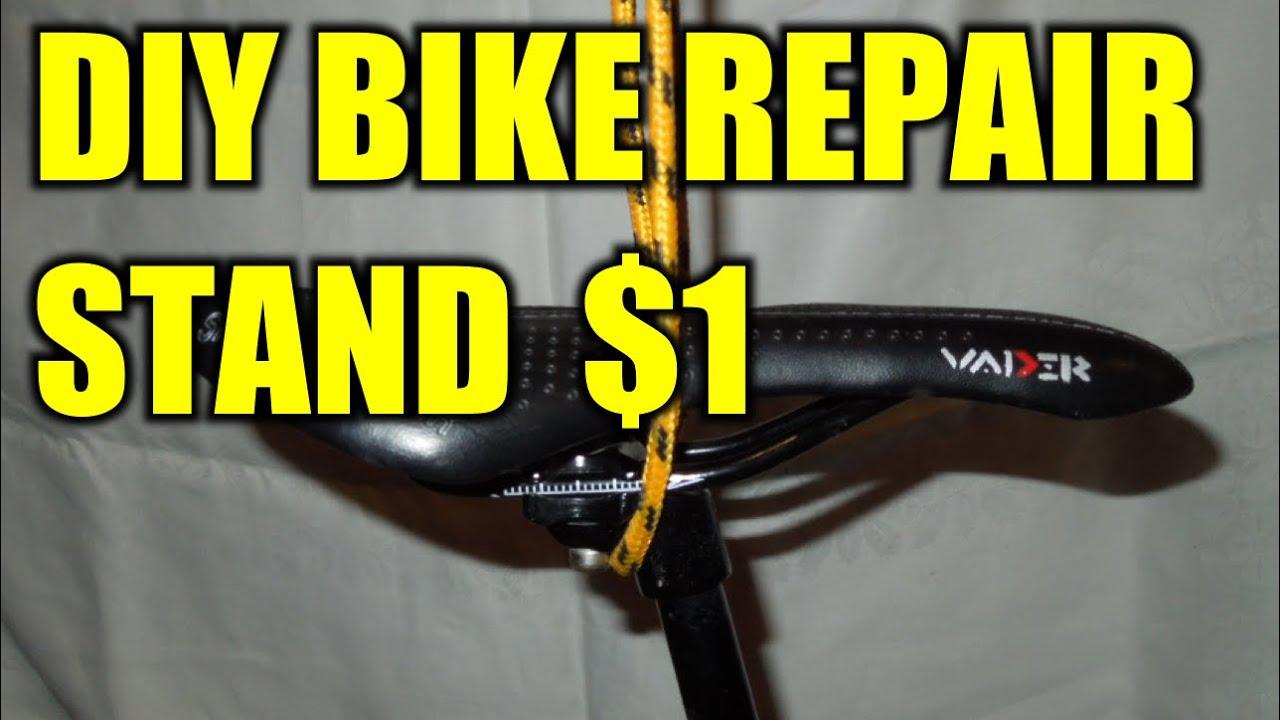 Diy Bike Repair Stand For 1 Youtube