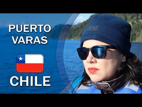 CHILE - Puerto Varas (Saltos Petrohué, Lago Todos Los Santos e Vulcão Osorno)