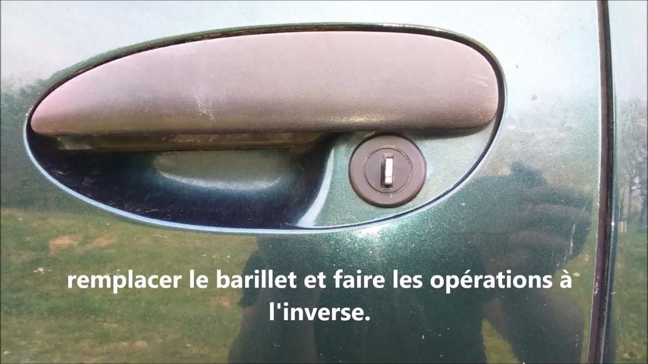 Changer Un Barillet Porte De Renault Espace 3