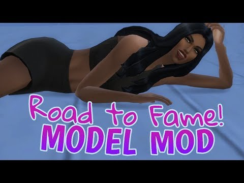 Sims 4 Road to Fame Mod - AMAZING MODELING UPDATE! #1
