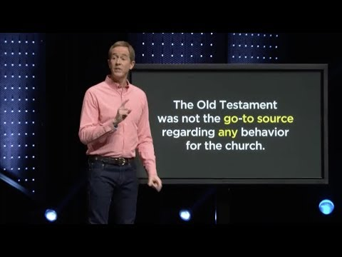 Andy Stanley Rejects the 10 Commandments (and the Old Testament)