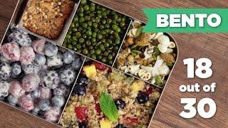 Bento Box Healthy Lunch 18/30 (Vegan) - Mind Over Munch