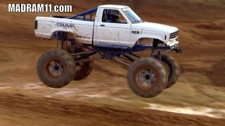 THATS ONE MONSTER OF A FORD RANGER