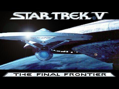 Star Trek V: The Final Frontier (PC/DOS) Playthrough, 1989, Mindscape