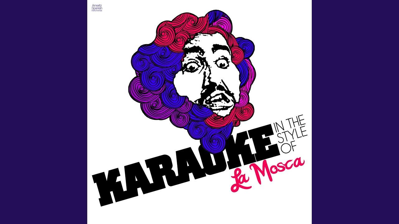 Muchachos Esta Noche Me Emborracho Karaoke Version Youtube