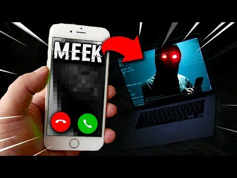 """MEEK' Took Control of my Computer After FaceTiming Her.. (SCARY)"