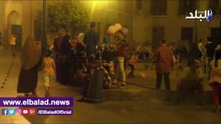 شلل في شوارع وسط البلد بسبب الباعة الجائلين .. فيديو