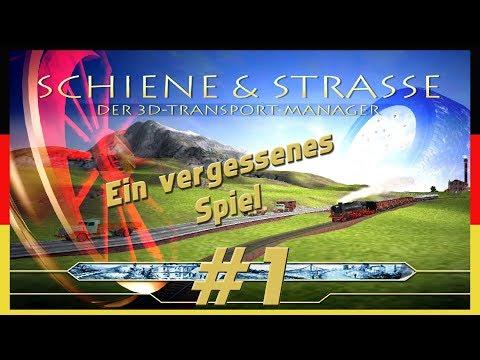 SCHIENE UND STRASSE #1 | Der 3D Transport Manager | [Deutsch|PC]