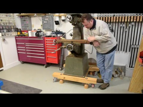 Wood Stand For Shop Equipment New Style Diy Leveling Feet Youtube