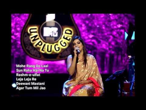 Shreya Ghoshal  MTV unplugged